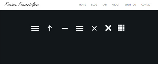 Navicon Transformicons Animated Navigation Icons with CSS Transforms