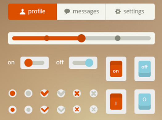OrangeCyan UI by Marc Konno