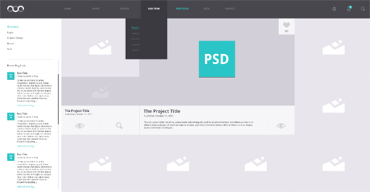 Portfolio Archive (PSD)
