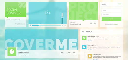 Social-Summer-UI-Kit