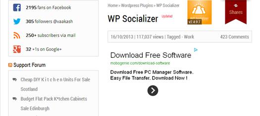 WP Socializer