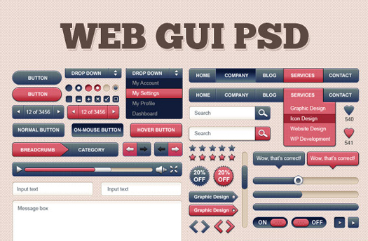 Web GUI Kit