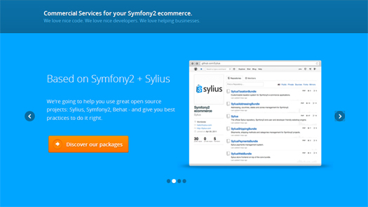 Open Source PHP E-commerce Solution – Sylius