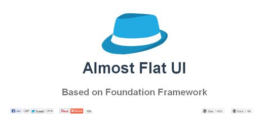 Almost Flat UI Based on Foundation Framework