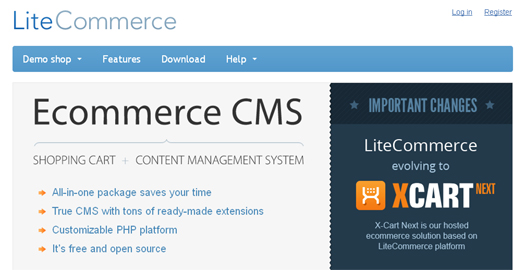 A Free ECommerce Solution for Building Online Stores - LiteCommerce