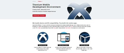 Titanium Mobile javascript Frameworks