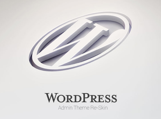 WordPress Admin Theme Redesign