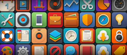 Softies - Free PSD and PNG Icons