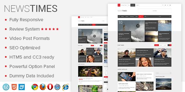 News Times Theme EGrappler.com