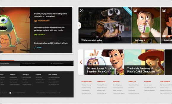 Web Design UI Elements