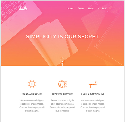 Hola-Free-Email-HTML-Template