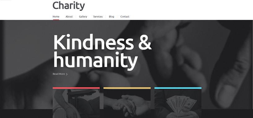 Charity Responsive