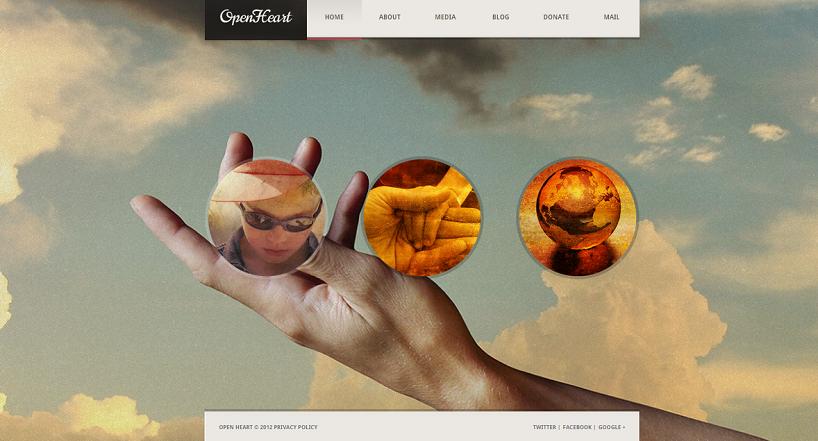 Charity WordPress Theme-OpenHeart