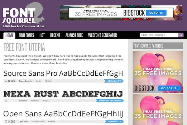 Top 9 Free Font Websites to Download | EGrappler