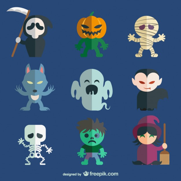 halloween-character-pack_23-2147496918