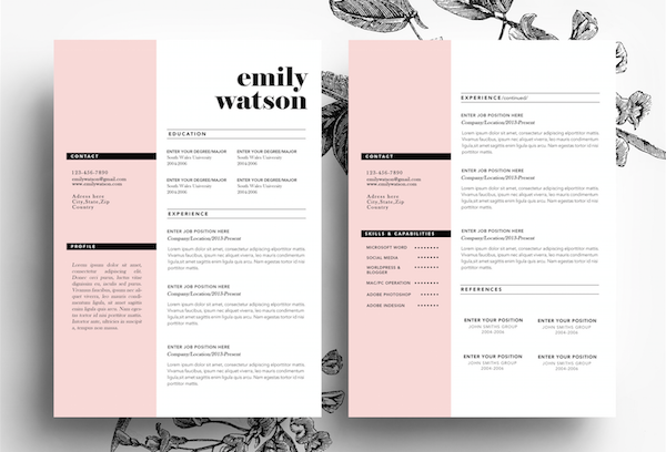 15 Helpful Resume Templates | EGrappler
