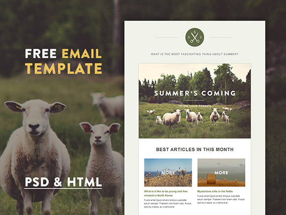 green-village-html-email-template