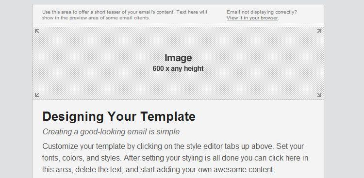 9 free responsive e mail templates egrappler. Black Bedroom Furniture Sets. Home Design Ideas