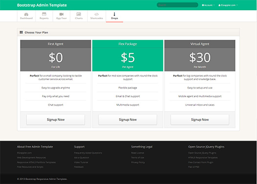 TemplateVamp Payment Template