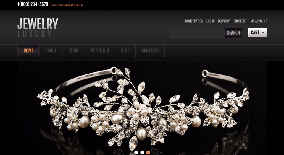 Best WordPress Themes for Jewelry Stores