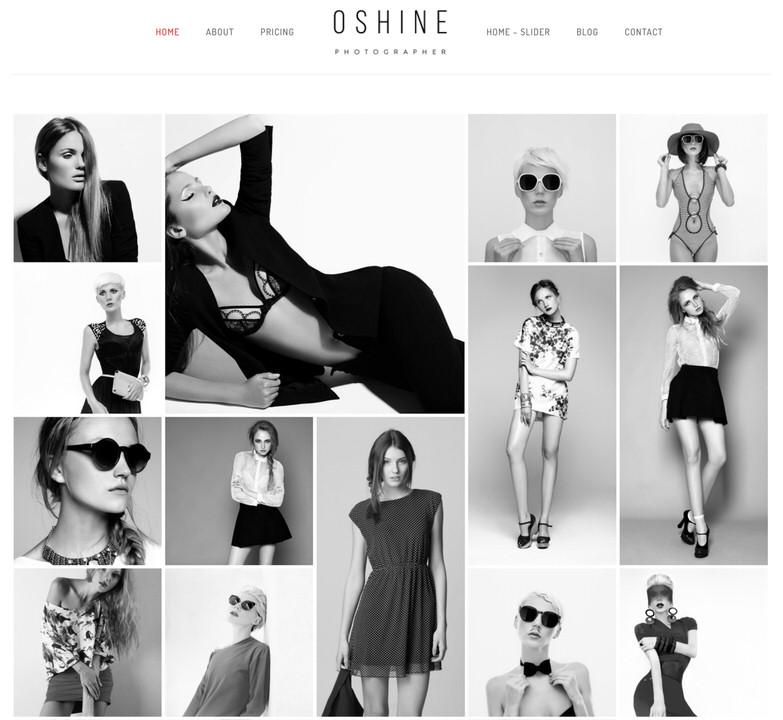 Oshine Theme