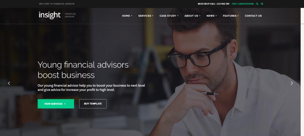Insight WordPress Theme