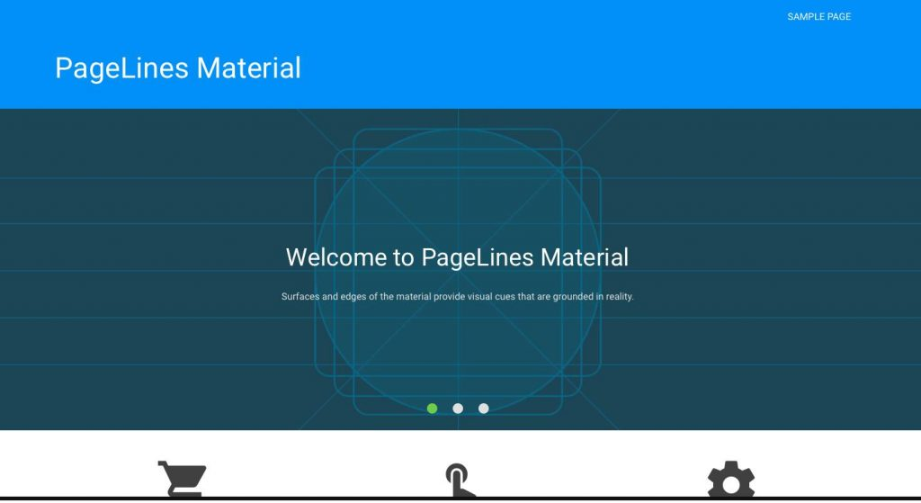 PageLines Material