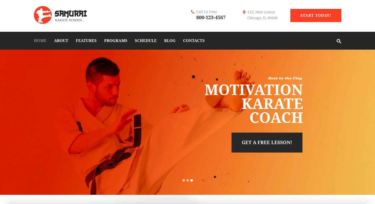 14 Best WordPress Themes for Karate Schools [2019] | EGrappler