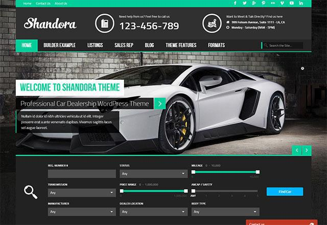 Shandora Best theme for WordPress