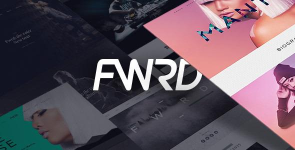 FWRD Musicians WordPress theme