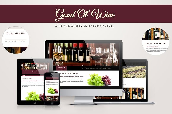 Good Ol' Wine WordPress Themes