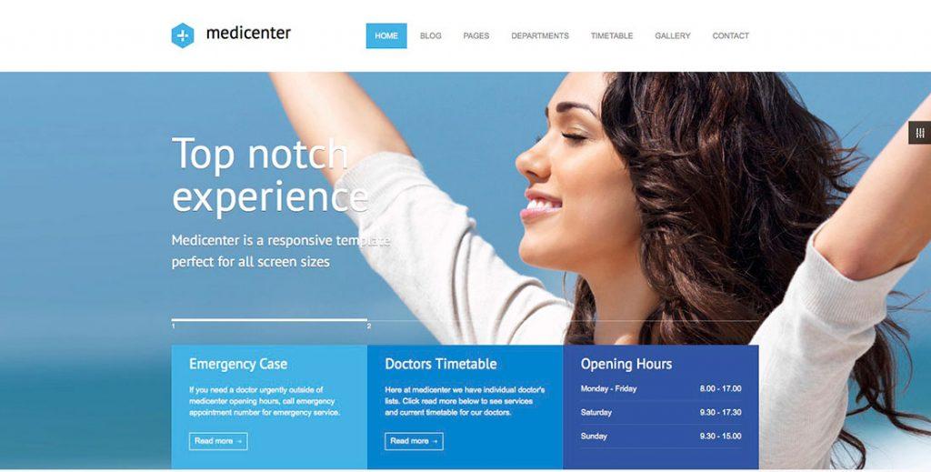 Medicals WordPress Theme