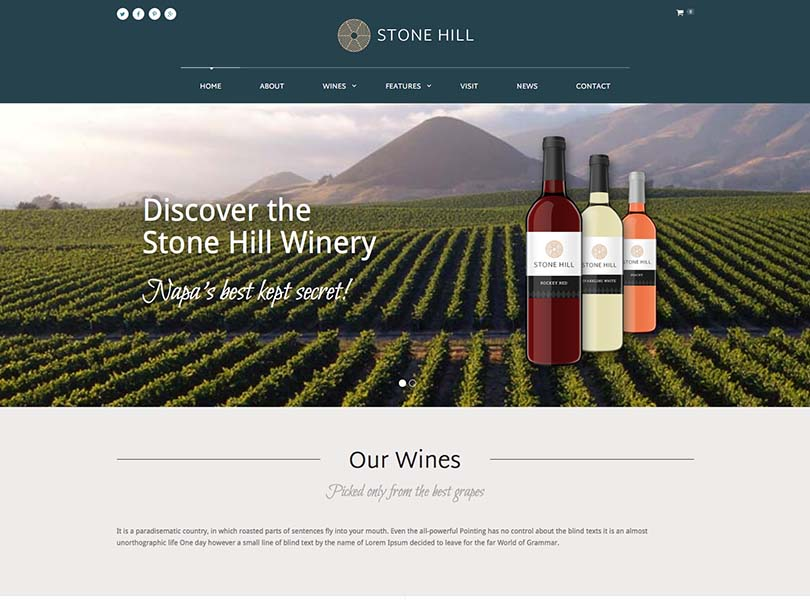 Stone Hill WordPress Themes