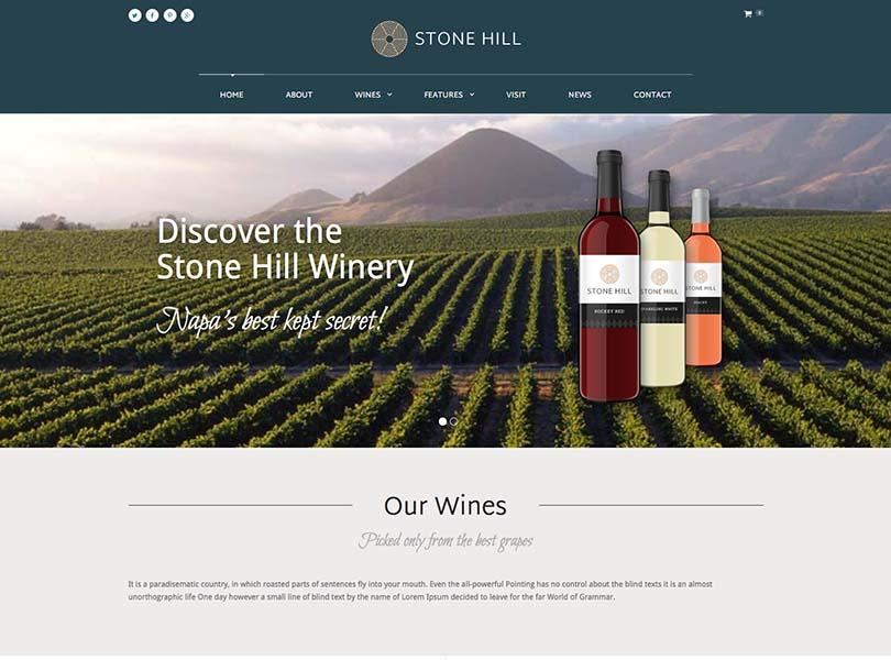 Stone Hill WordPress Themes