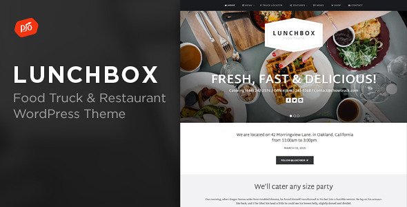 Tasty AMP Restaurant Template