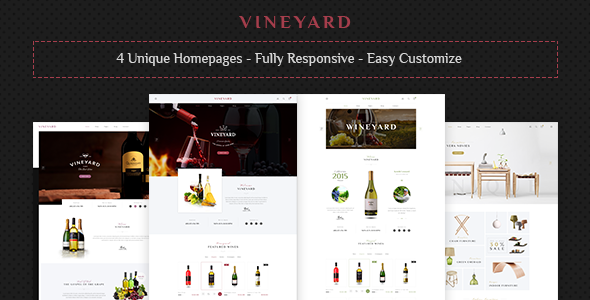 Vineyard WordPress Themes