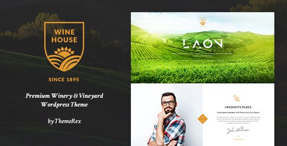 Wine House WordPress Themes