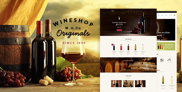 WineShop WordPress Themes