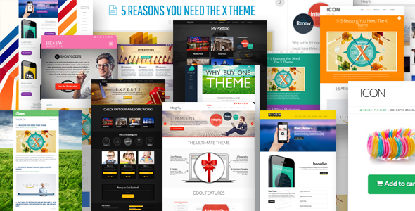 X – Responsive WordPress Theme