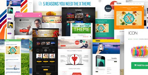 X – Responsive WordPress Theme