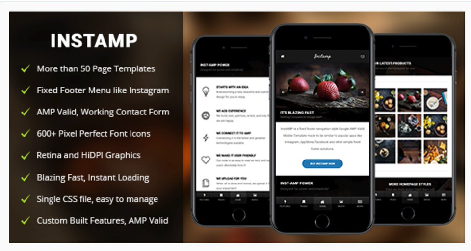 Amp Insta Is An Template Theme For WordPress Websites Which Has Been Designed By The Team At Enabled Perfect Developers That Are