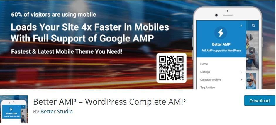 Better AMP-Wordpress Complete AMP