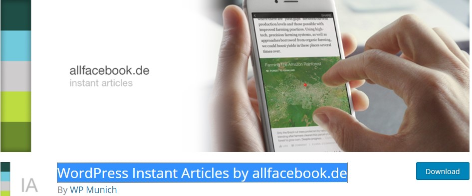 WordPress Instant Articles by allfacebook.de