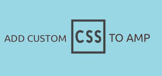 CSS In AMP Template