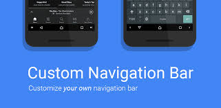 Customization Of Navigation Menus