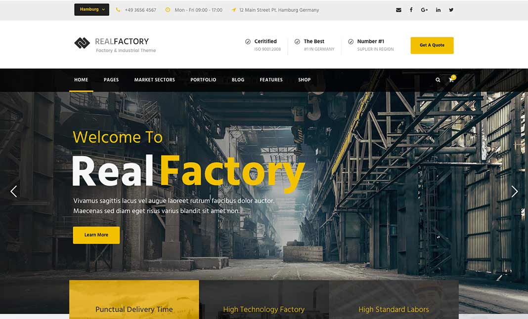 Real Factory Theme