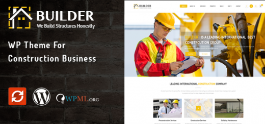 WordPress Themes For Builders