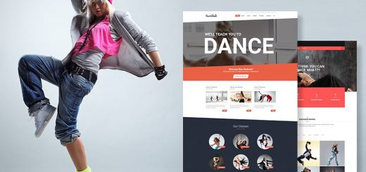 WordPress Themes For Dance Studios (2017)