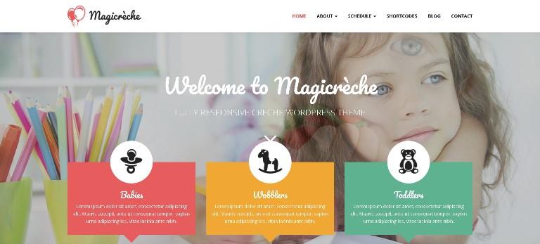 Magicreche theme