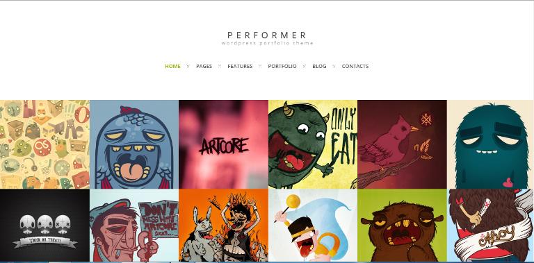 Performer WordPress Theme